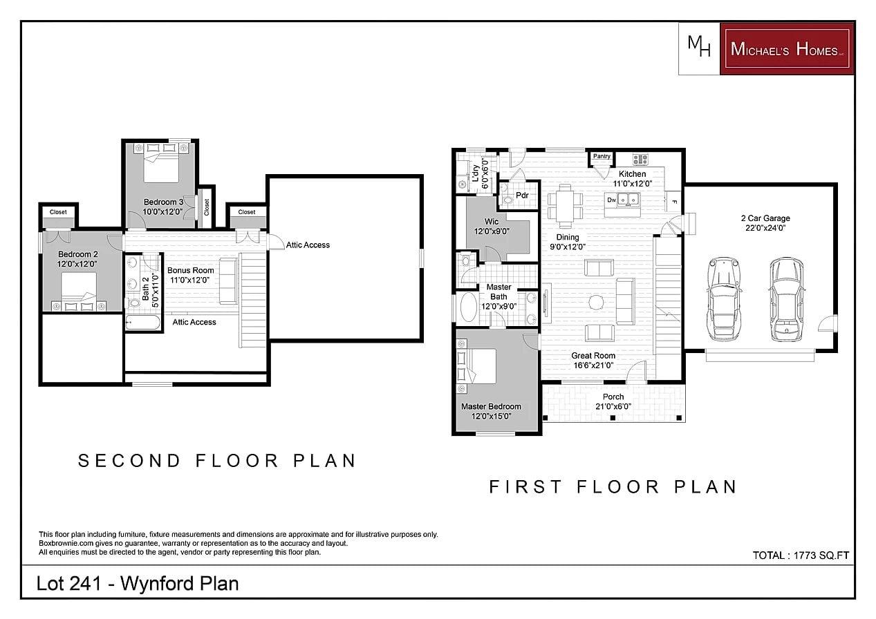 Wynford 1700 sqft